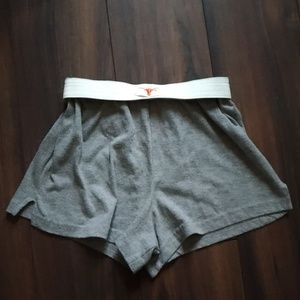FIXED PRICE UT longhorns shorts XS/S